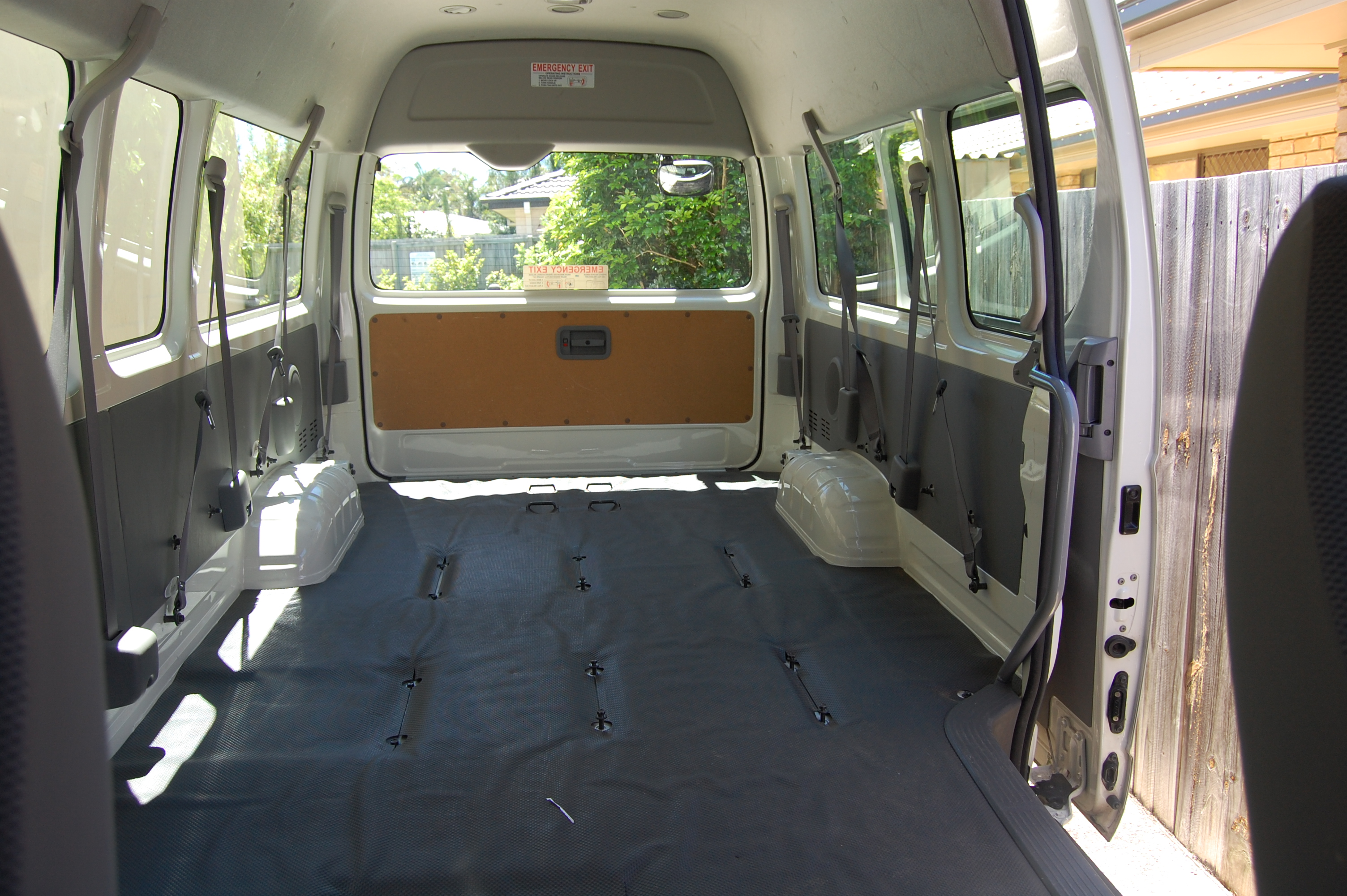 Taking Delivery EBay Pic Of Seats Campervan Converts