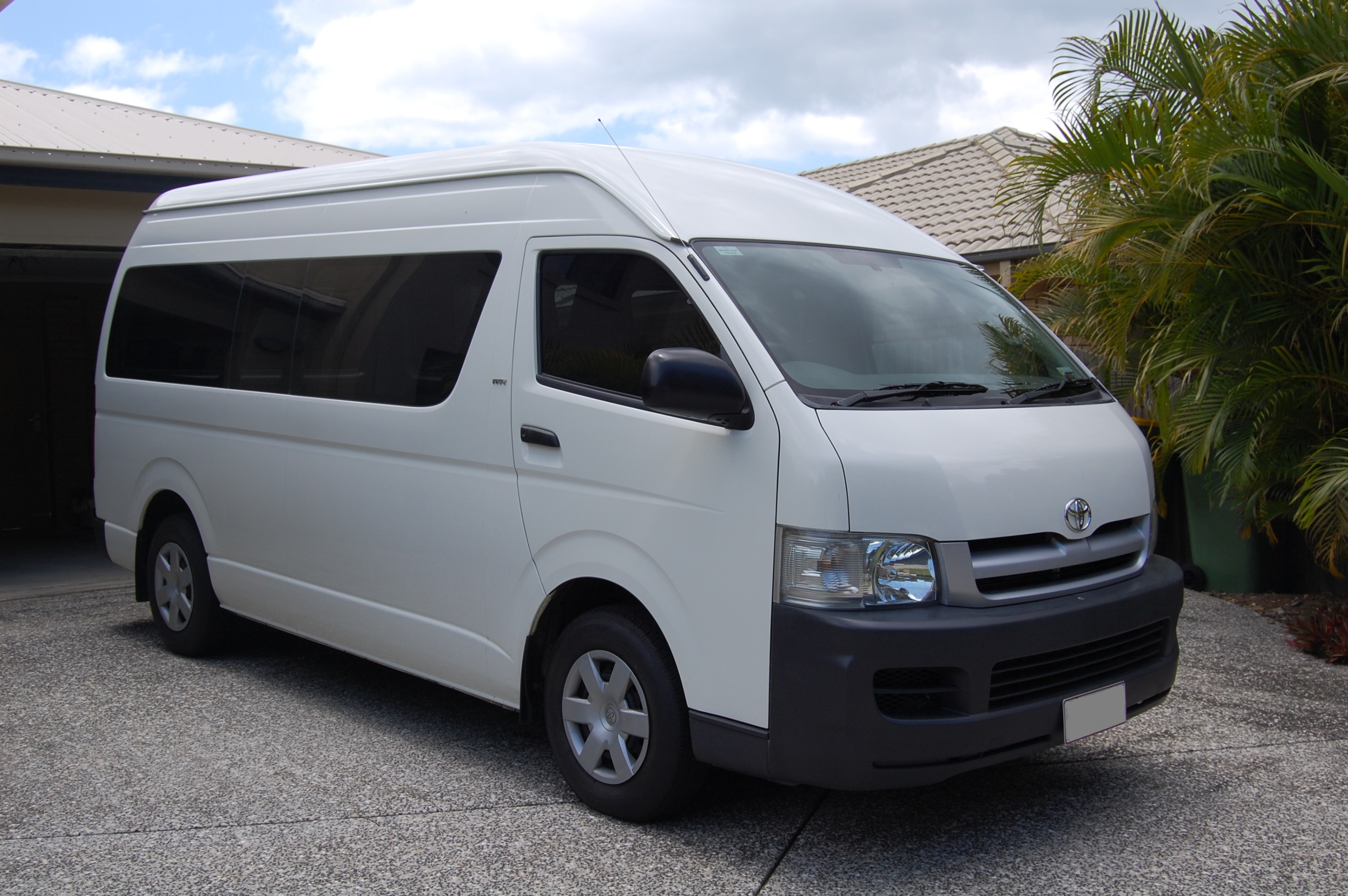 Toyota Hiace Commuter | The Campervan Converts