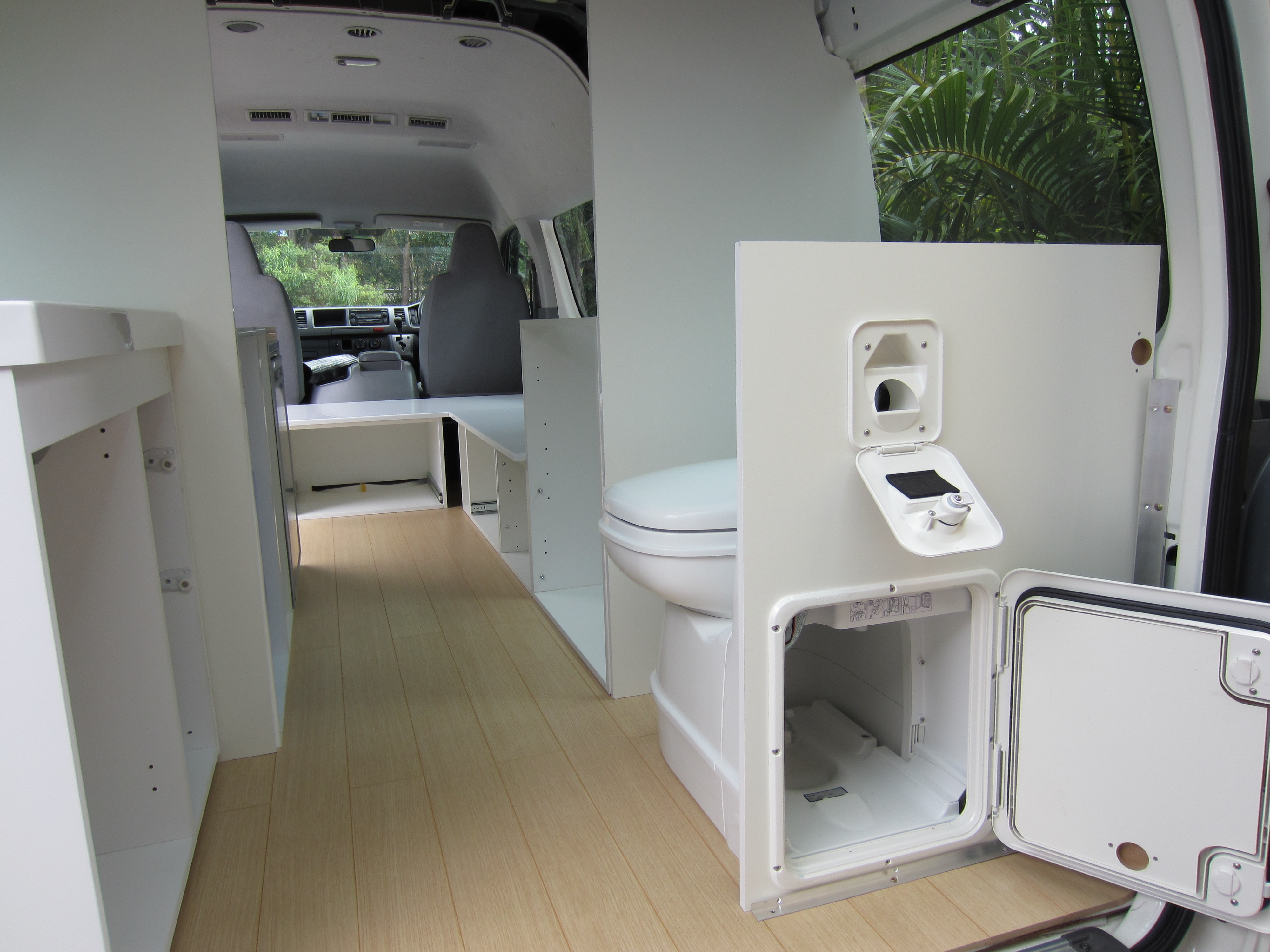 Campervan Kitchen And Cabinets The Campervan Converts