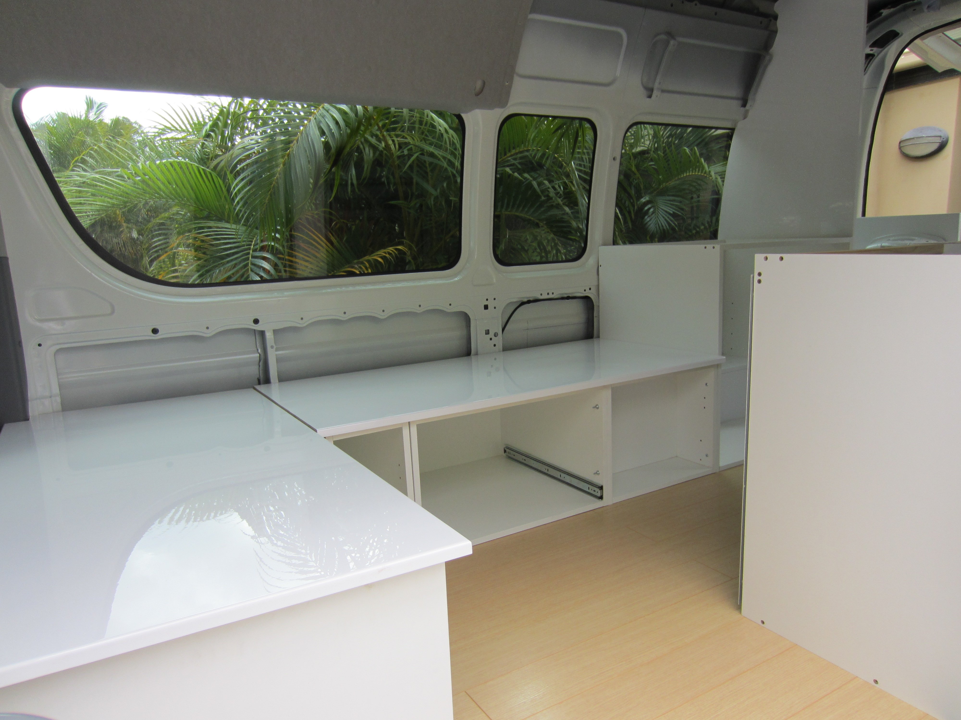 Campervan Layout A Feat Of Architectural Design The