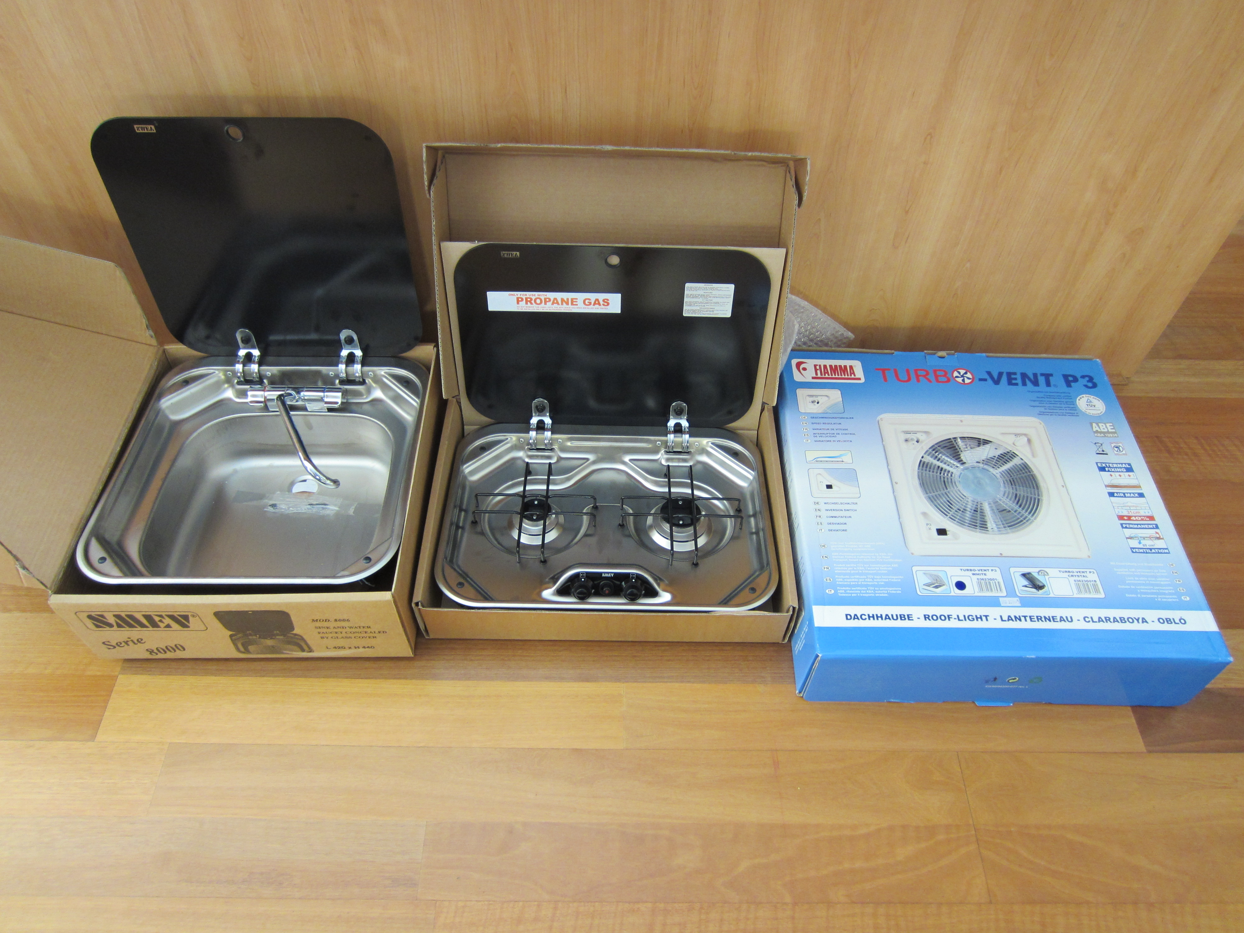 Superb ... Kitchen Sink: Caravans Plus Has Been A Very Useful Supplier, We Also  Bought The Thetford Toilet And Gas Bottle Casing There. And Although  Theyu0027re Based ...