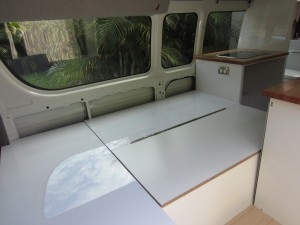 How To Convert Campervan Seating Into A Bed The