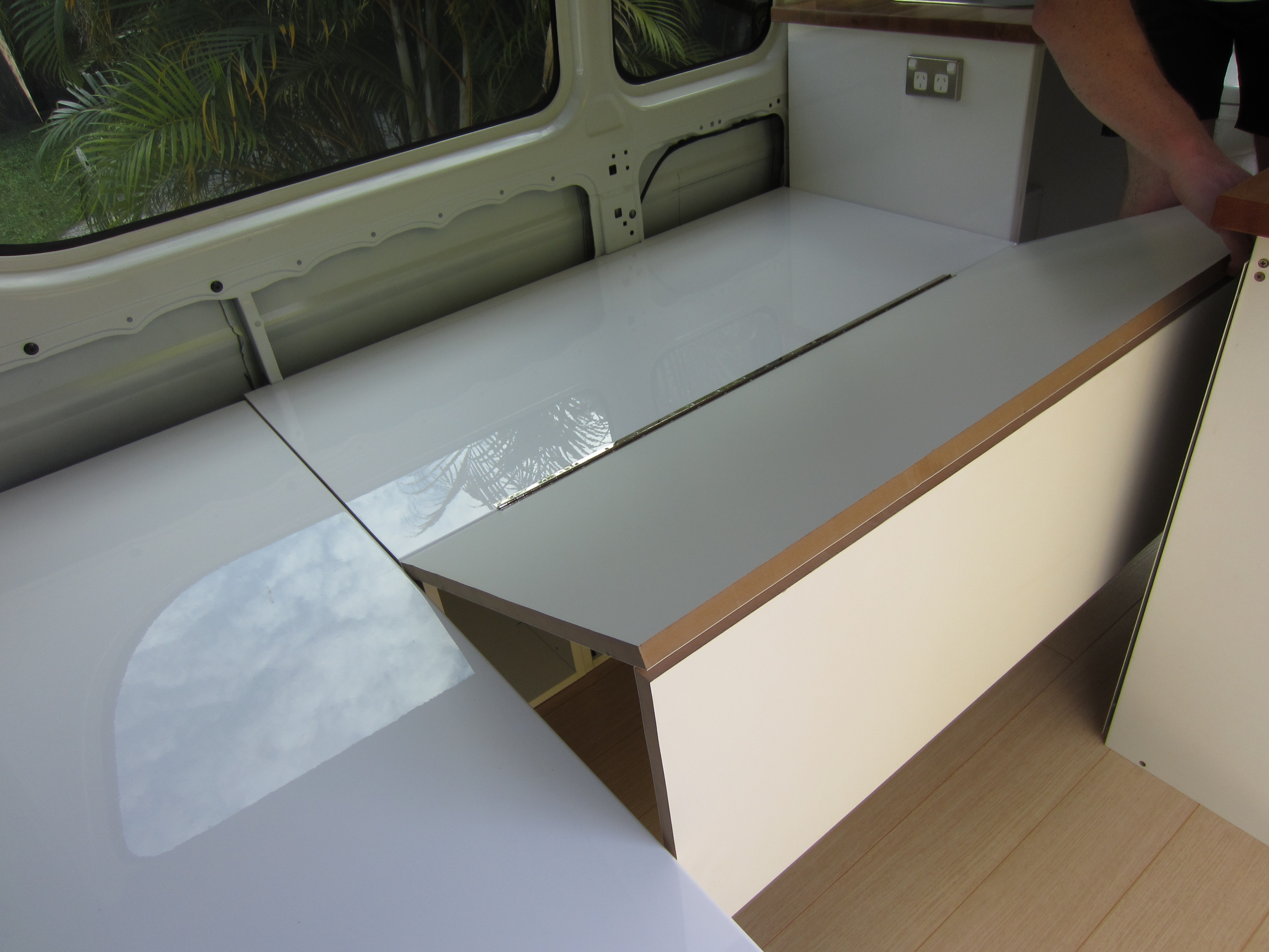 Campervan Seating Bed Conversion The Campervan Converts