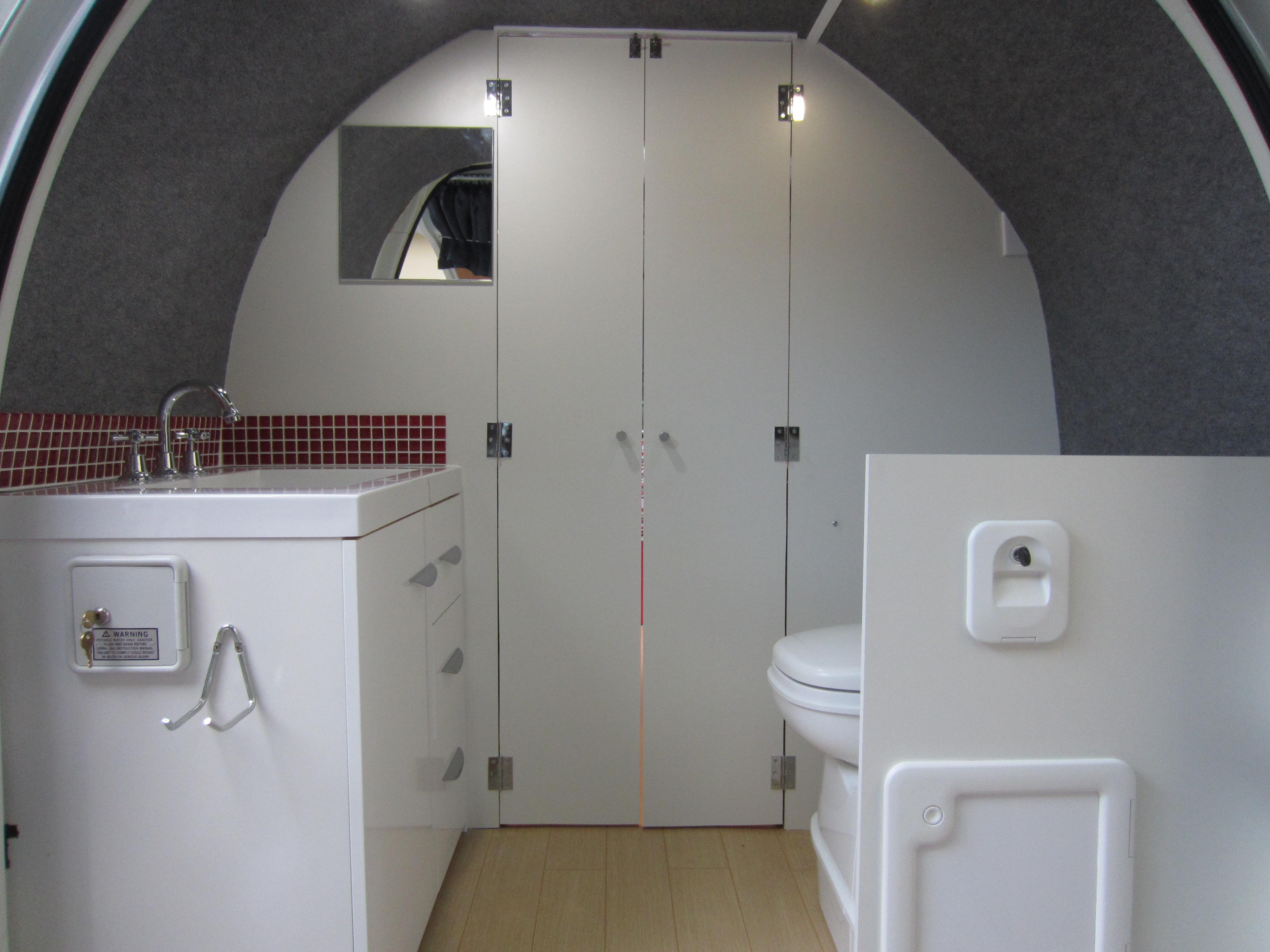 Campervan Bathroom The Campervan Converts