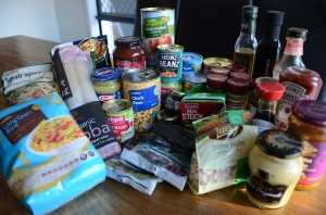 Campervan Converts - campervan food, a stocked pantry