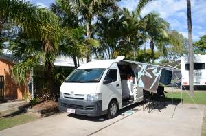 Campervan Converts - Noosa River Holiday Park