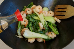 Campervan Converts - campervan food, prawn stir-fry