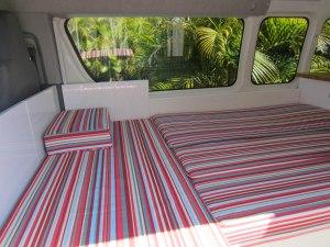 Campervan converts - campervan bed