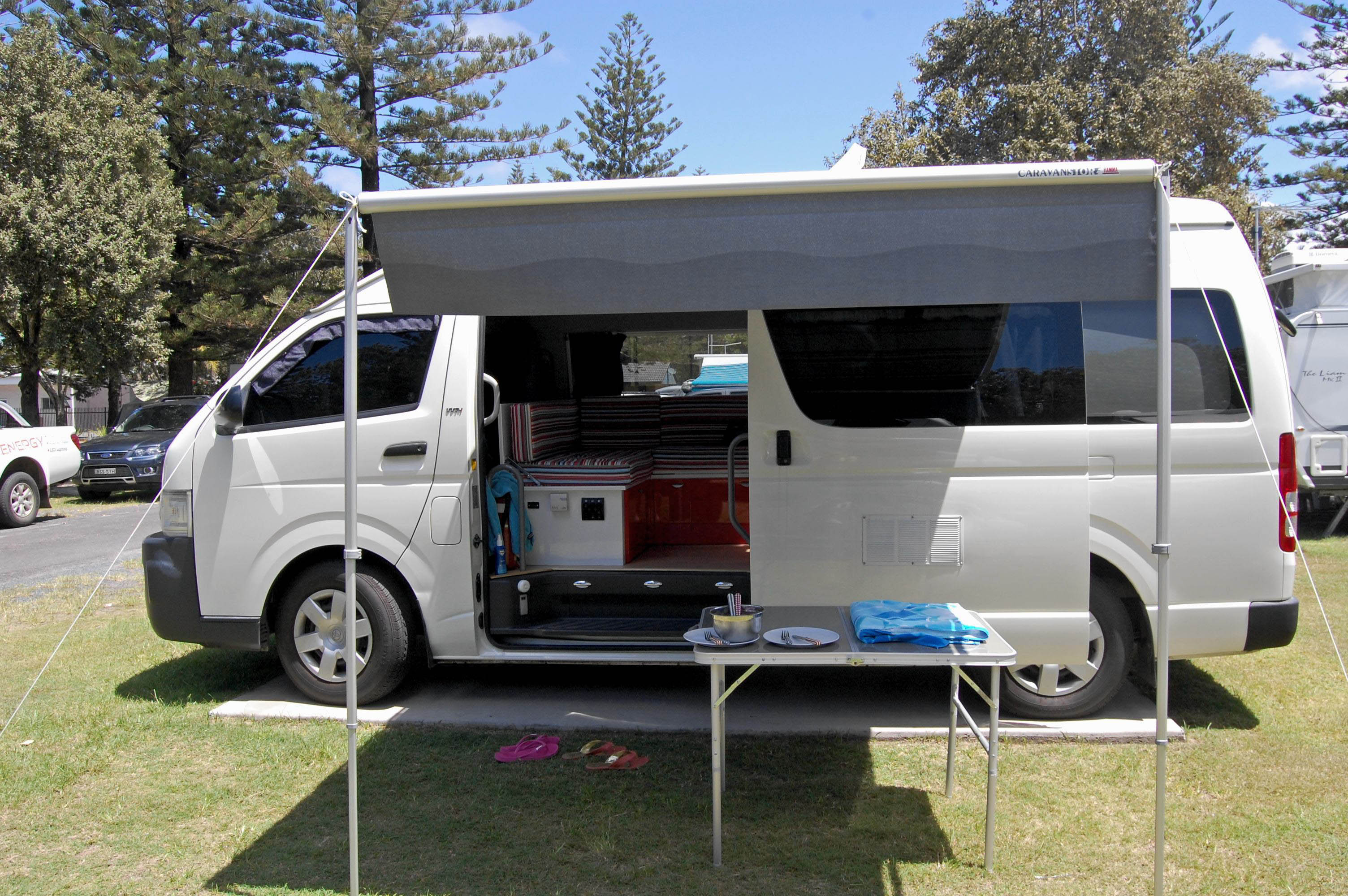 the campervan converts imagine being able to pull over