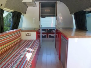 Campervan interior 2