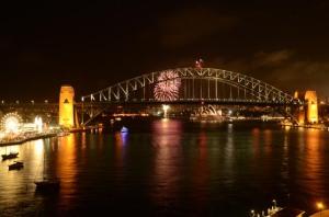 Campervan Converts - Sydney Harbour Fireworks